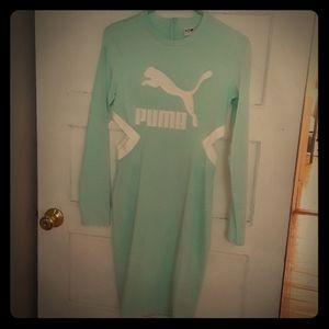 Long Sleeve Puma Dress